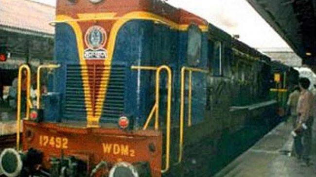 Thiruvizha Railway Station