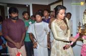 trisha at 96 tamil movie pooja stills 336