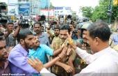 abvp secretariat march at thiruvananthapuram photos 100 002