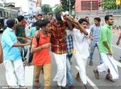 abvp secretariat march at thiruvananthapuram photos 100