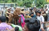 abvp secretariat march at thiruvananthapuram stills 512 00