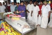 actor jagannatha varma funeral photos 016