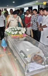 actor jagannatha varma funeral photos 021