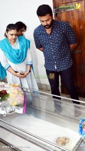 indrajith at jishnu raghavan funeral photos 09382 011