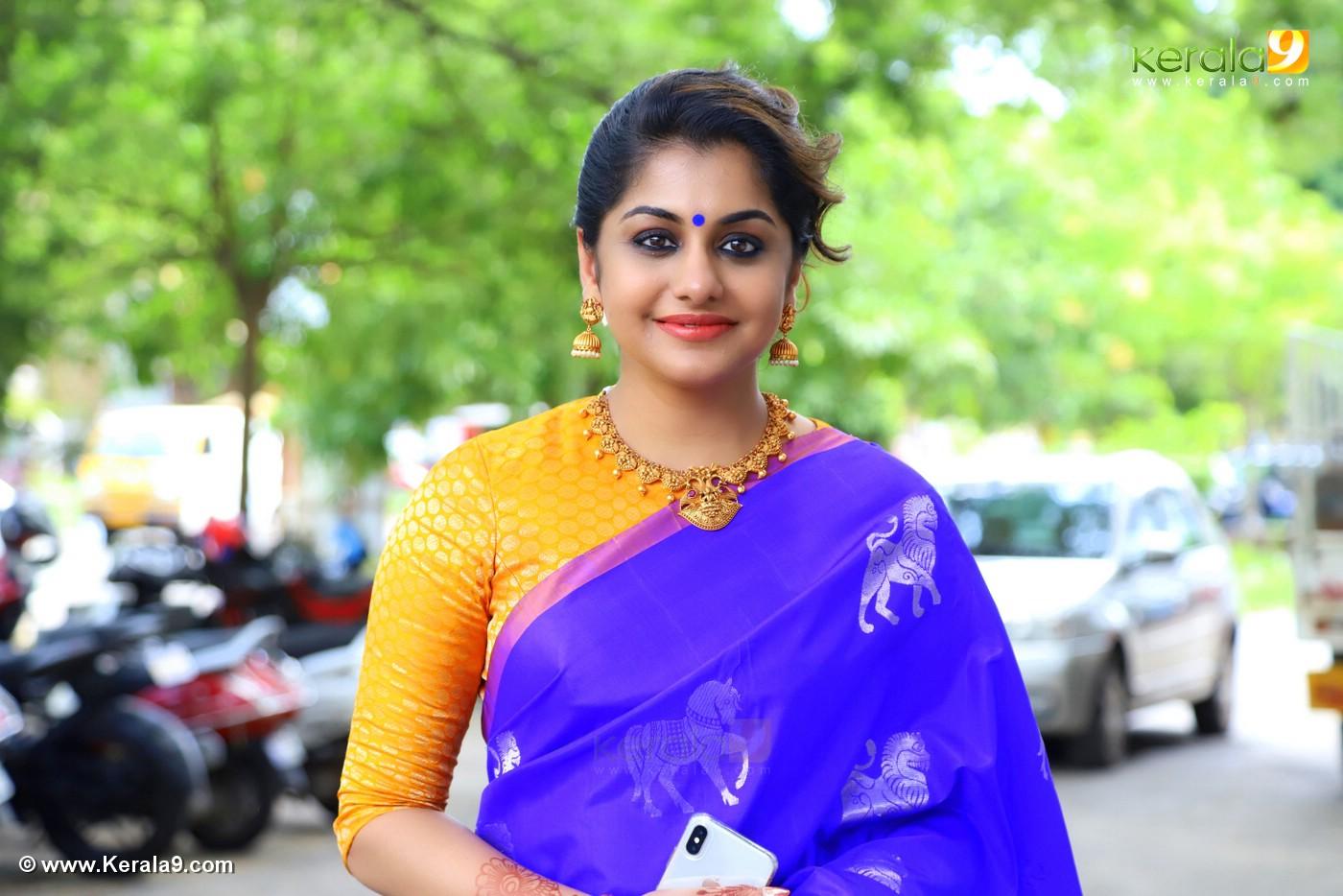 meera nandan at sreejith vijay marriage photos 8