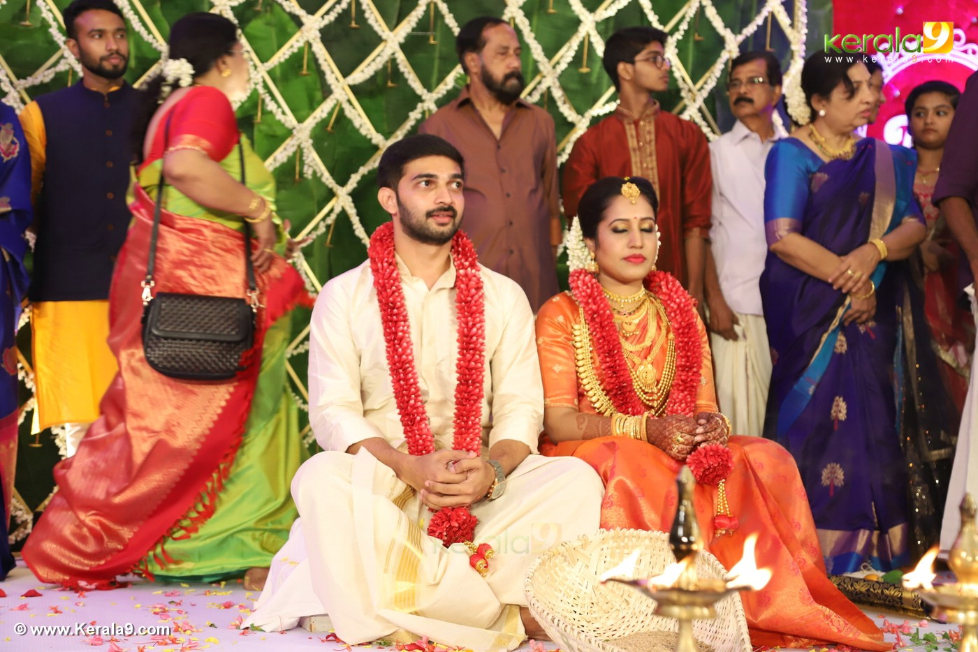 sreejith vijay wedding photos 36