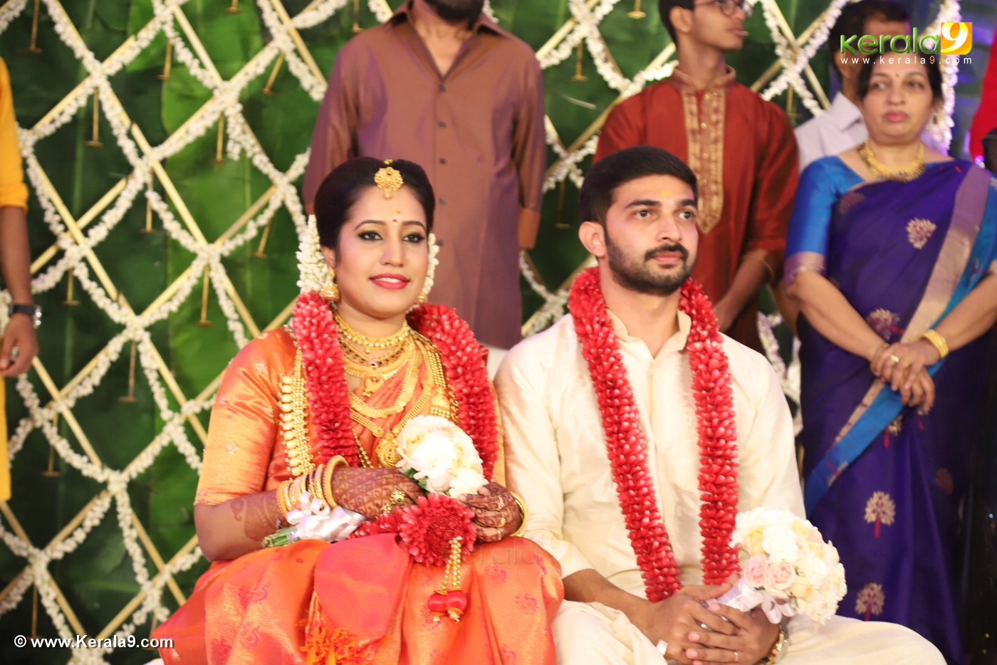sreejith vijay wedding photos 42