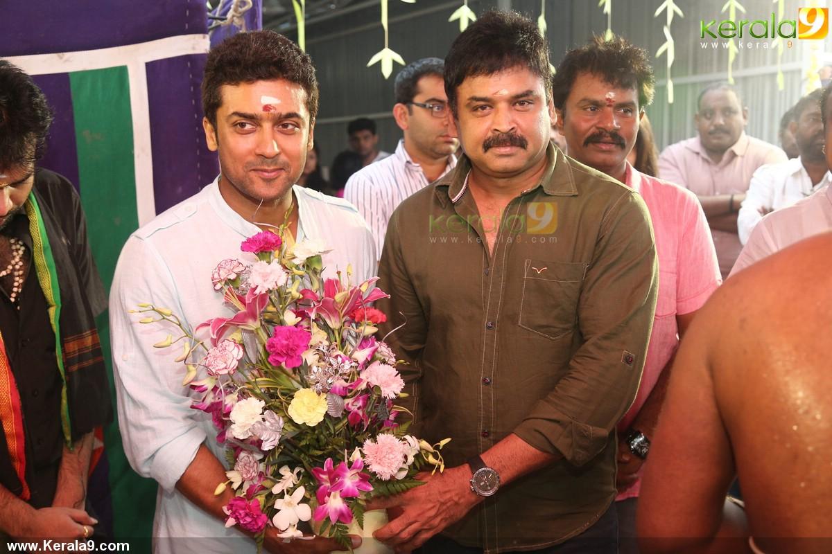 Surya and venkat prabhu movie pooja photos 02388 - Kerala9.com