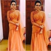bhavana in engagement dress photos 2123