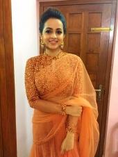 actress bhavana engagement pics gallery