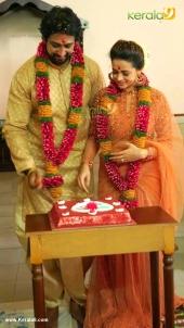 bhavana naveen engagement photos 001