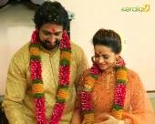 bhavana naveen engagement pics