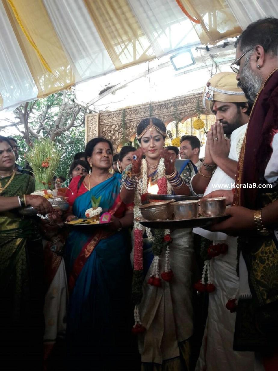 meghana raj chiranjeevi sarja marriage photos  3