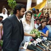 meghana raj chiranjeevi sarja wedding photos  1