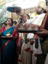 meghana raj chiranjeevi sarja marriage photos  2