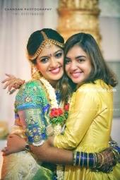 meghana raj chiranjeevi sarja marriage photos  8