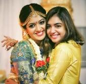 nazriya nazim at meghana raj marriage photos  7