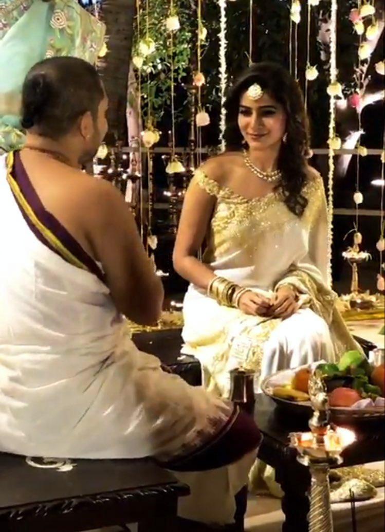 samantha naga chaitanya engagement pics 00