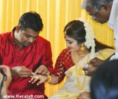 saranya sasi marriage engagement photos