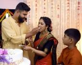 srinda second marriage photos  4