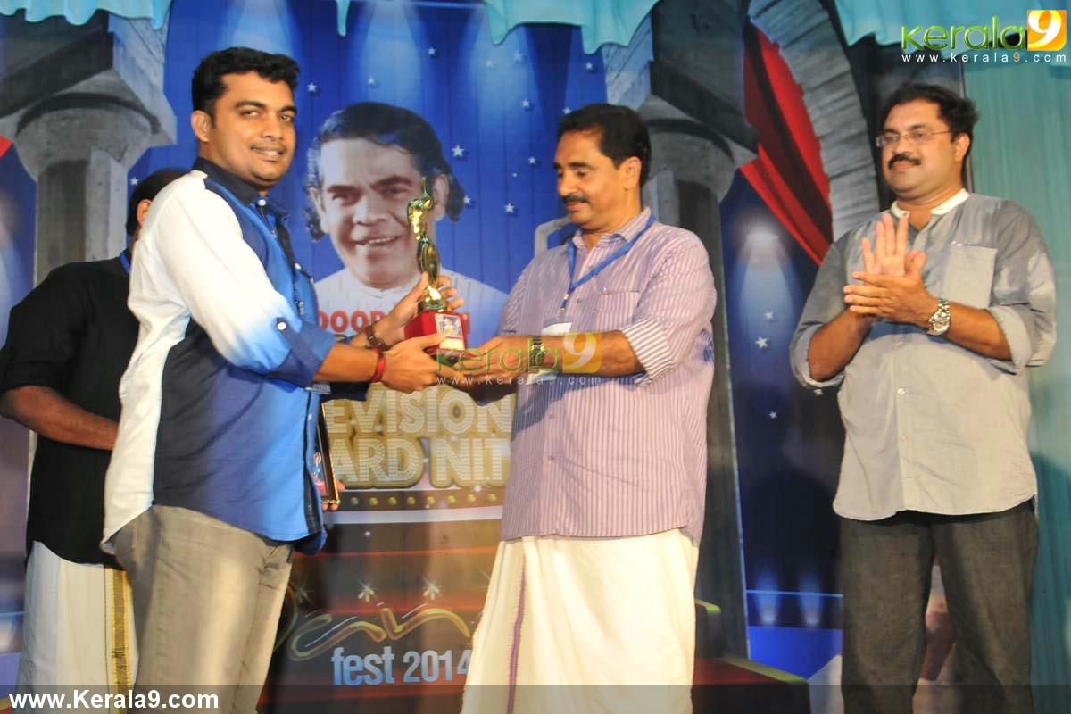 nk premachandran at adoor bhasi television award 2014 photos 00