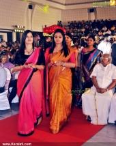 adoor prakash son and biju ramesh daughter engagement stills 400 022