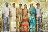 sona nair at adoor prakash son and biju ramesh daughter engagement stills 800 001