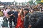 5764aishwarya rai and manju warrier at kalyan jewellers inauguration photos