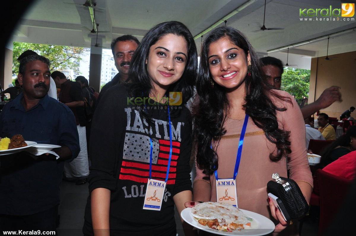 meera nandhan at amma general body meeting 2014 photos