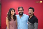 vijay babu at angamaly diaries movie 100 days celebration stills 009 011