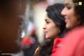 vinitha koshy at ankarajyathe jimmanmar malayalam movie pooja pictures 331 011