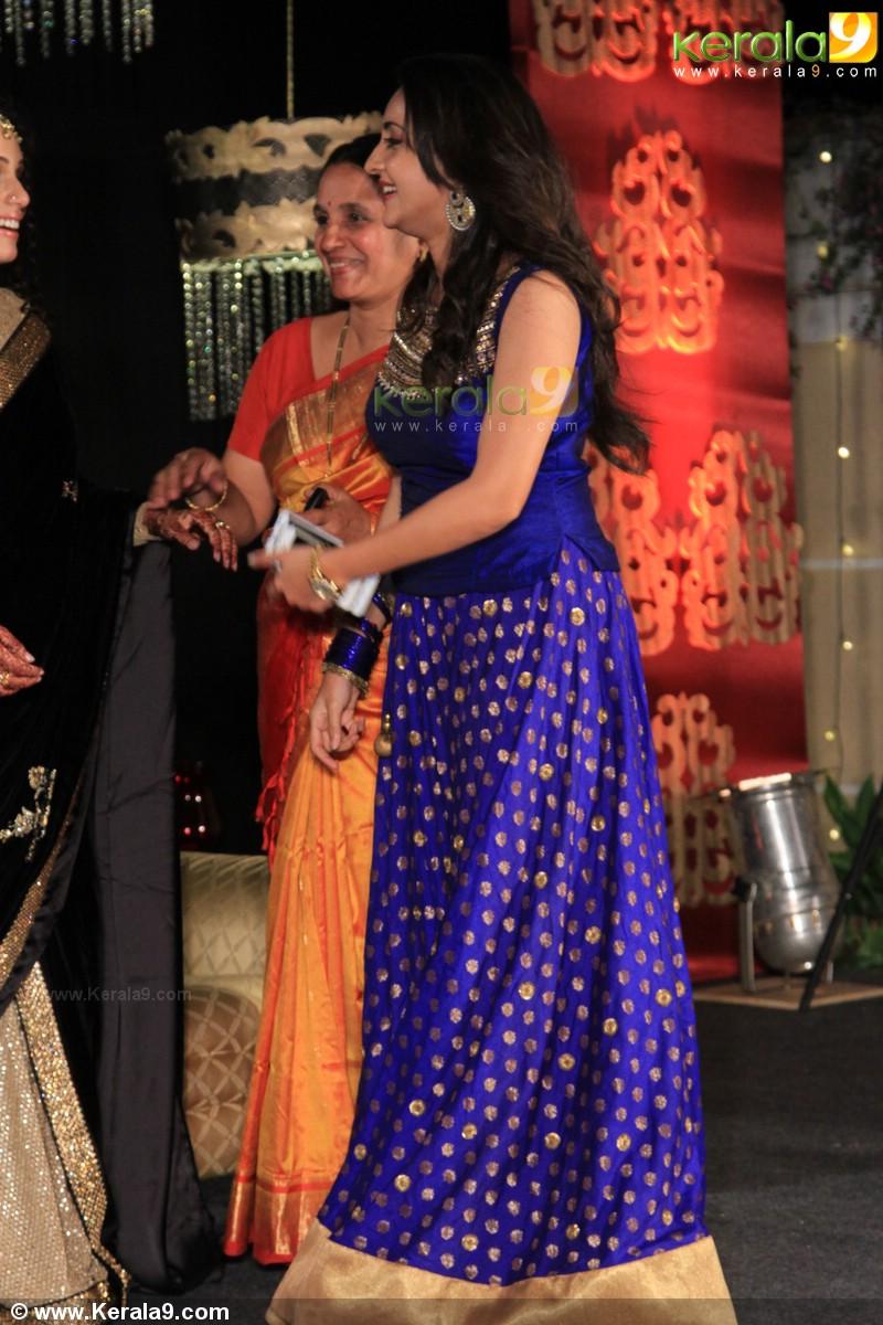 bhama at ann augustine wedding reception photos