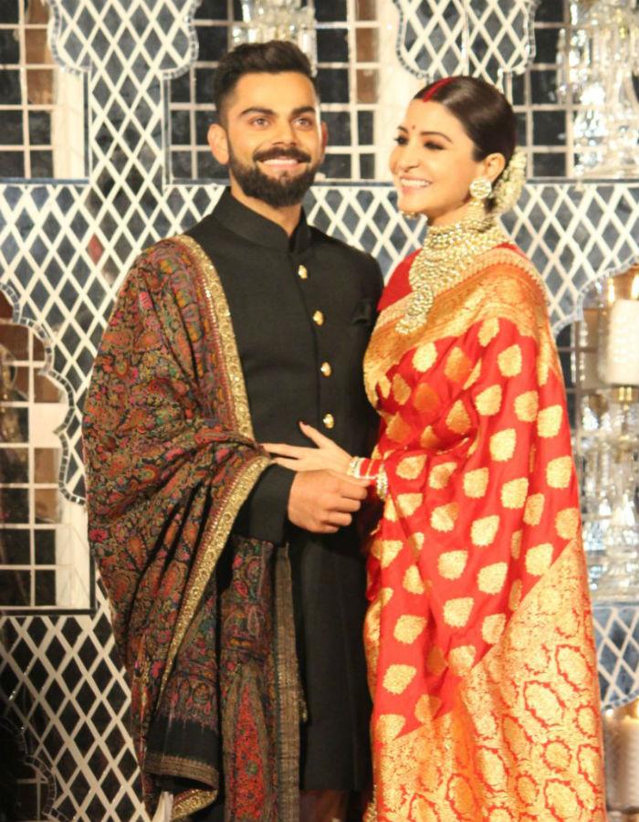 anushka sharma virat kohli wedding reception photos 001