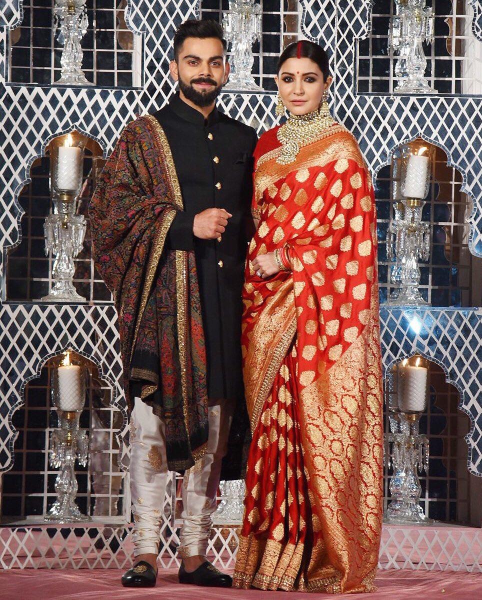 anushka sharma virat kohli wedding reception photos 009