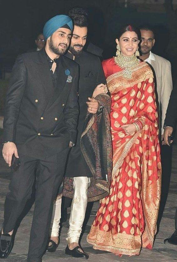 anushka sharma virat kohli wedding reception photos 015