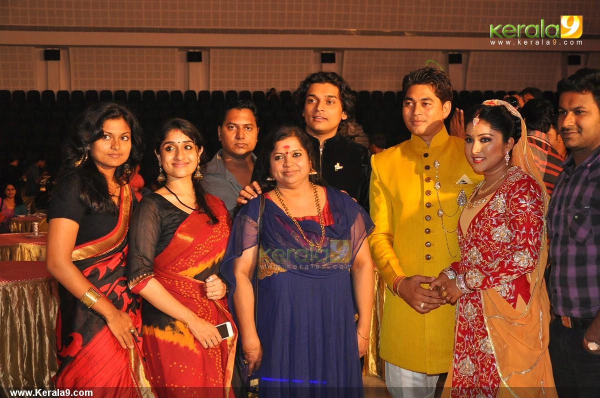 202 actress archana suseelan wedding reception photos
