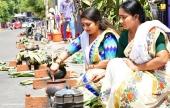 celebrities at attukal pongala 2019 photos 32