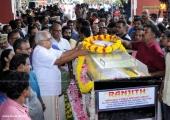 musician balabhaskar funeral photos 8