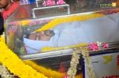 musician balabhaskar funeral photos 9