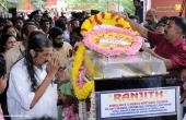 balabhaskar funeral photos 10