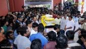 balabhaskar funeral photos 2