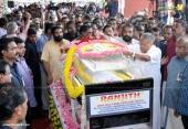 balabhaskar funeral photos 3