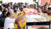 balabhaskar funeral photos 5
