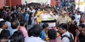 violinist balabhaskar funeral photos 1
