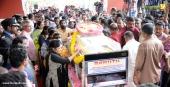 violinist balabhaskar funeral photos
