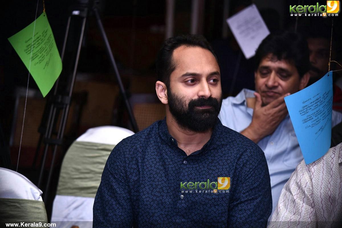 fahadh faasil at basheerinte premalekhanam malayalam movie launch stills 410 003