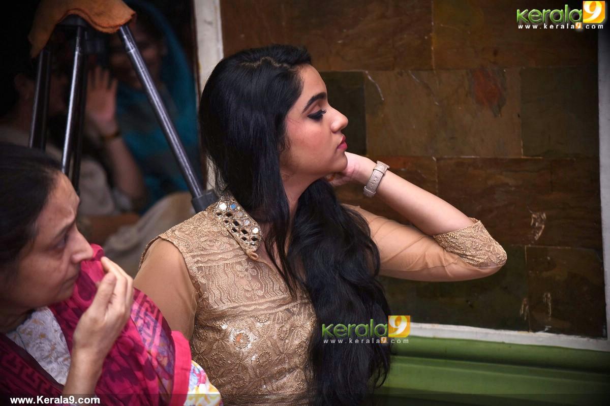 sana althaf at basheerinte premalekhanam movie pooja pictures 380 005