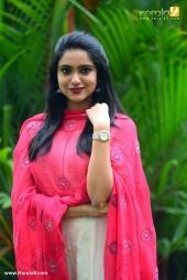 sana althaf at basheerinte premalekhanam movie promotion photos 035