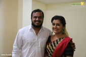 sarayu at actress bhavana marriage photos 24