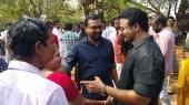 jayasurya at captain malayalam movie pooja photos 110